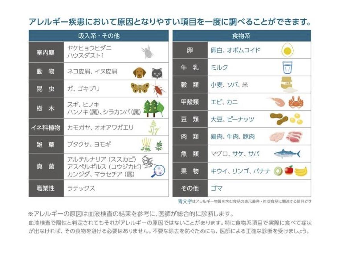 アレルギー 食べ物 金属